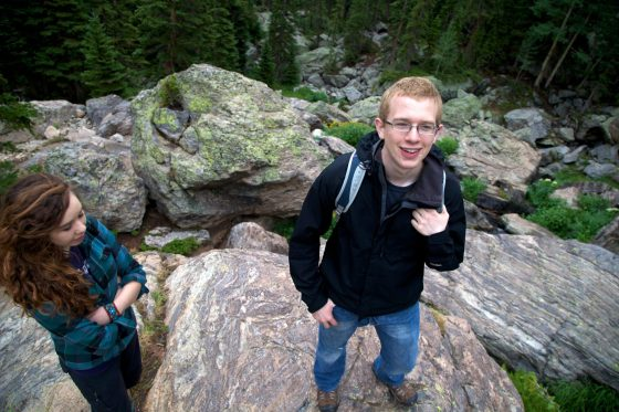 Hiking the Rocky Mountain national park with the family