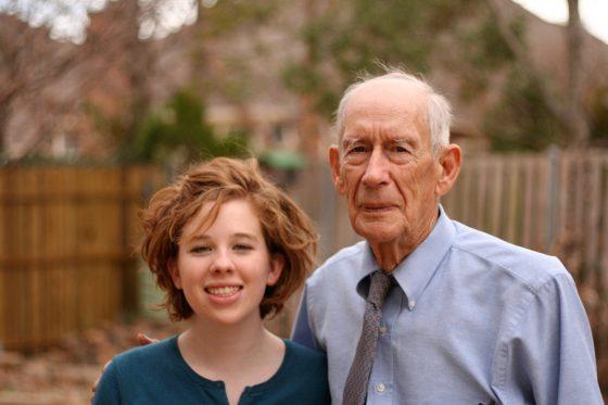 Christina and my father