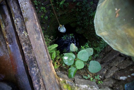 This well is there source of water