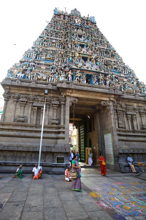 Kapaleeswarar Temple at Mylapore in Chennai