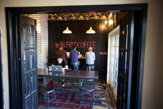 New coffee find Alfreds was great