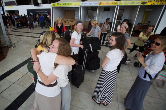 Julie & Mandy reunite