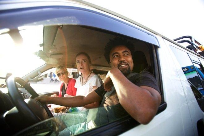 Jenna, Mandy and drive Gulelat