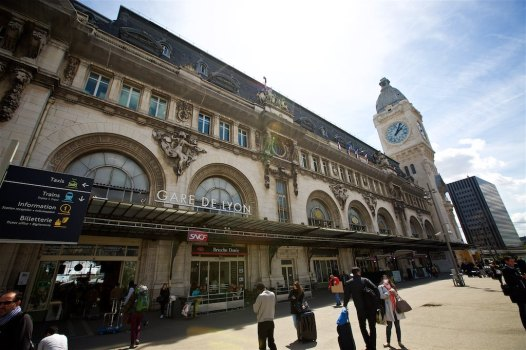 Gare du Nord train station in Paris