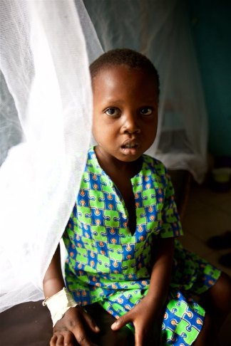 This is little five year old Kasujja, whom I reported on yesterday who came to the clinic with anemia and malaria. I am happy to report that he was released from the clinic today and is doing much better.