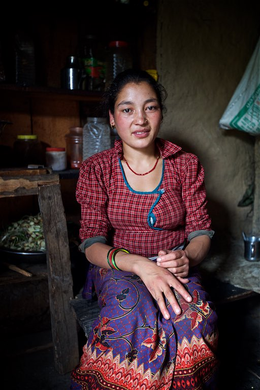 Faces of the Nepalese 13