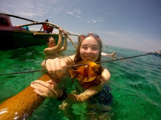 Spearing fish in the Philippines with the Badjao Tribe