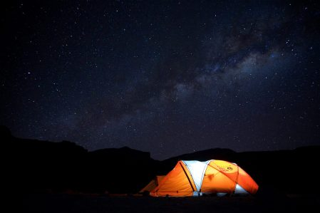 Mount Kilimanjaro - I had never seen the skies so dark nor the stars so bright...