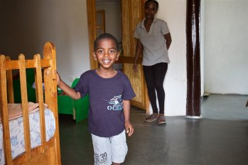 One of the children living at Kidmia