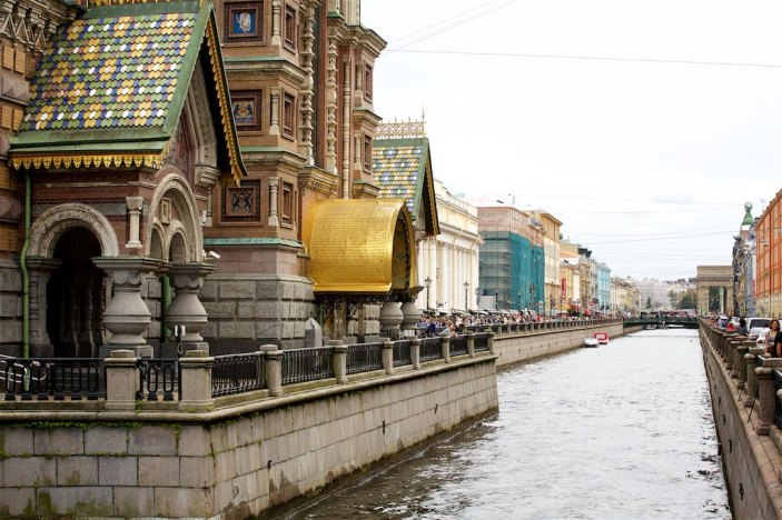 The Church of the Savior on Spilled Blood 2