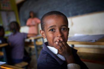 I loved this little Ethiopian boys spirit at Brighton Academy in Ethiopia