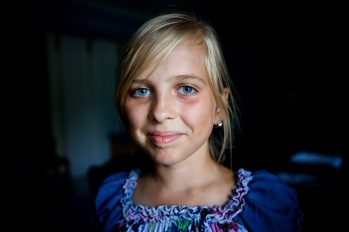 Telling the stories of the children in the front line war on the border of Ukraine and Russia