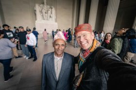My friendship with this kind man from Nepal was formed through our mutual admiration of our hats 😊