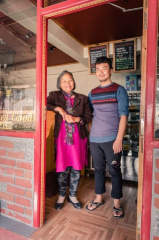 House of Grace Founder Aunty alongside one of her graduates and success stories, Mingmar Sherpa