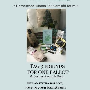 Enter to Win a Homeschool Mama Self-Care Gift!