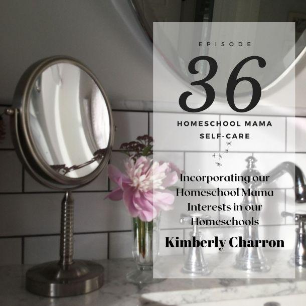 Kimberly Charron podcast graphic