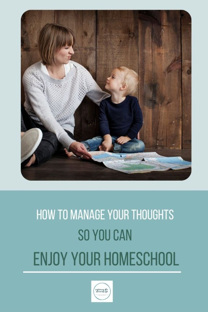 Manage your homeschool mama thoughts