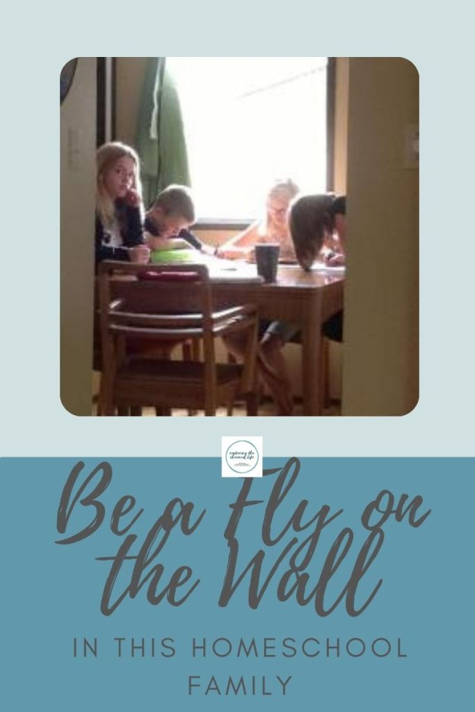 Be a Fly on the wall in a homeschool family