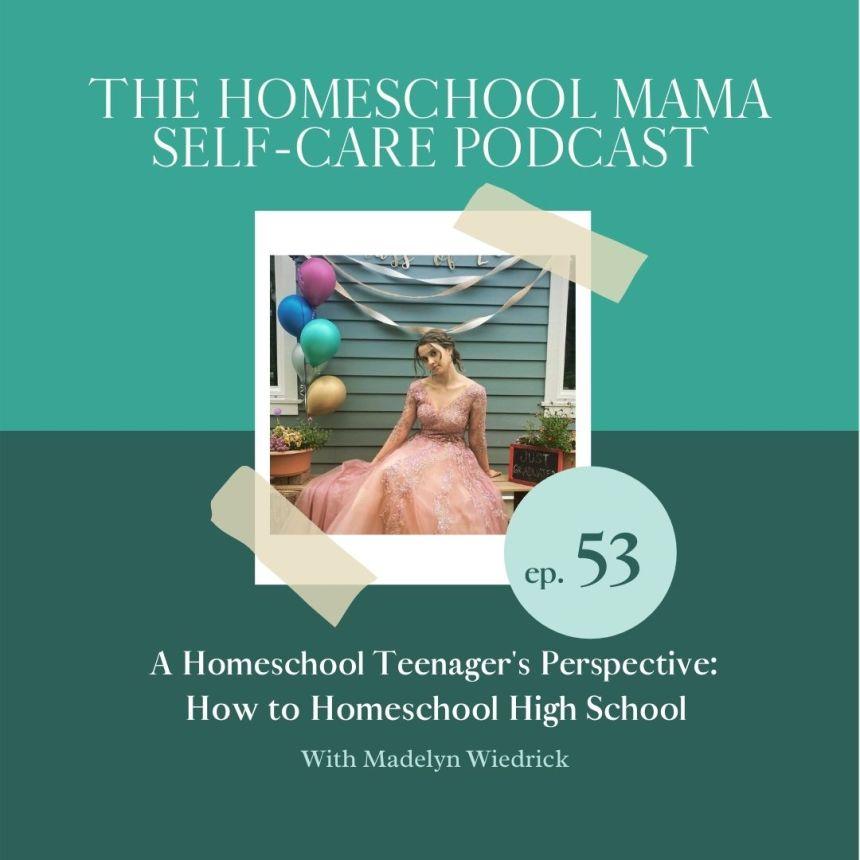 A teenage perspective on homeschool high school