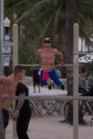 Esercizi in spiaggia