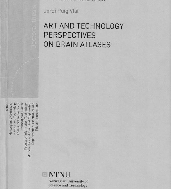 Mappe del cervello, installazioni e neuroscienze / Brain atlases, installations and neurosciences