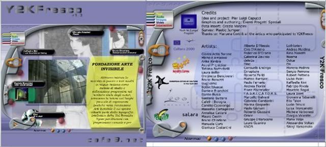 Cover del CD-ROM / CD-ROM cover
