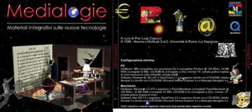 La copertina del CD-ROM / The CD-ROM cover