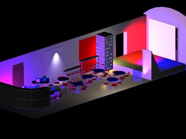 Villa Serena, la sede di Bologna del progetto (modello 3D) / Villa Serena, the venue of the project in Bologna (3D model)