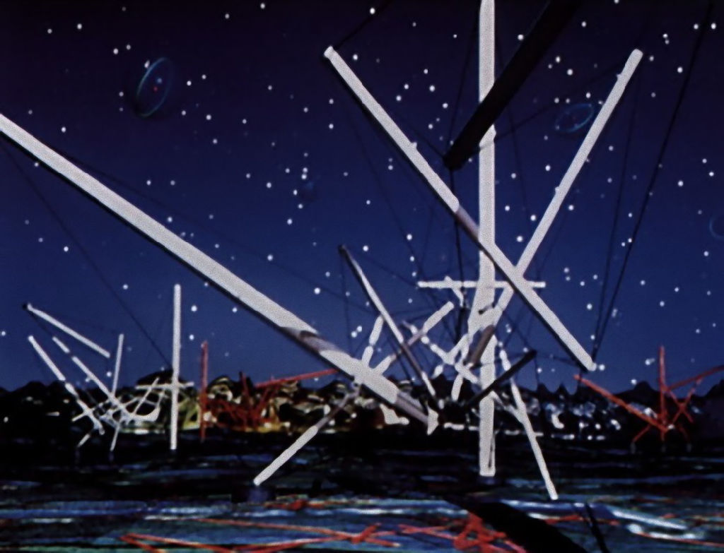 Kenneth Snelson, Devil's Forest Moon Night