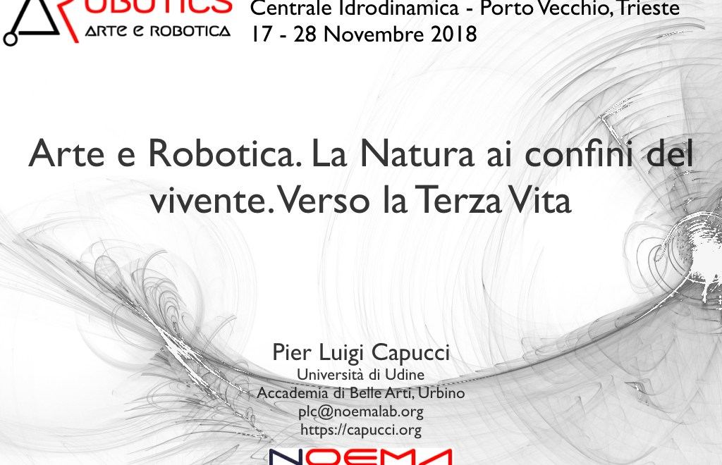 Robotics – Arte e Robotica / Art and Robotics