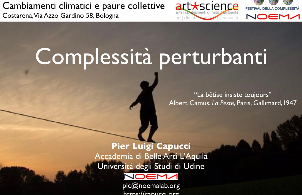 Cambiamenti climatici e paure collettive / Climate Change and Collective Fears