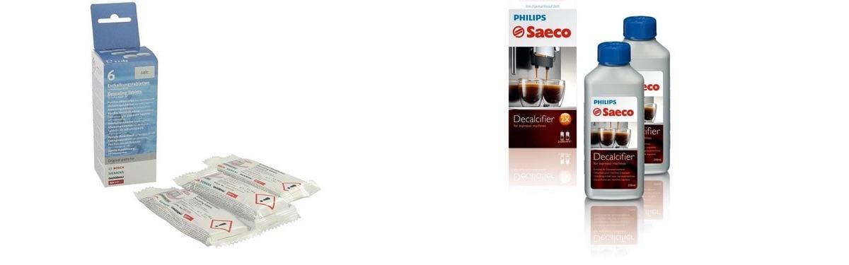 Kit de limpieza y mantenimiento de cafeteras Saeco