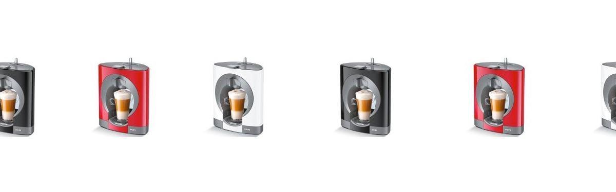 Las 3 cafeteras de Krups más populares en 2017 (Nespresso y Dolce Gusto)