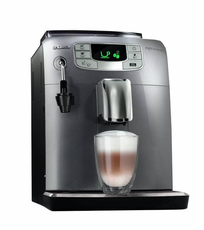 No te pierdas las cafeteras en oferta en Amazon España (solo el 15 de Julio): Saeco HD8752/95 Intelia Evo - Cafetera espresso súper automática