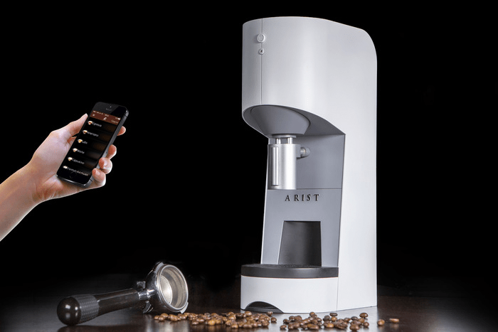 Arist, la máquina de café que podrás controlar con tu smartphone inalámbricamente