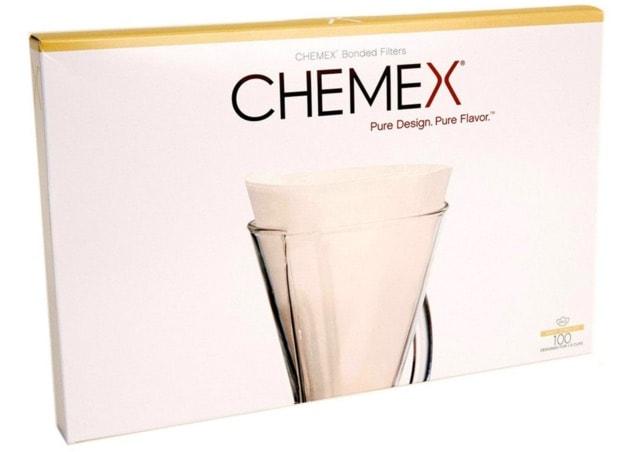 Los mejores filtros para cafeteras Chemex: Filtros blanqueados