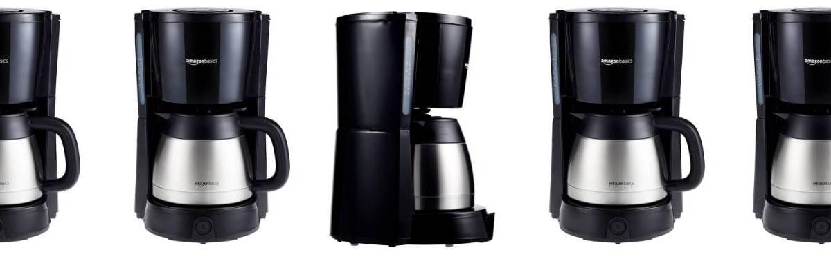 Cafetera de filtro AmazonBasics – Opinión