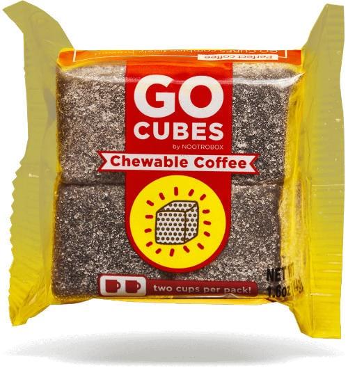 Por qué tomar café si puedes masticarlo: Las gominolas de café Go Cubes