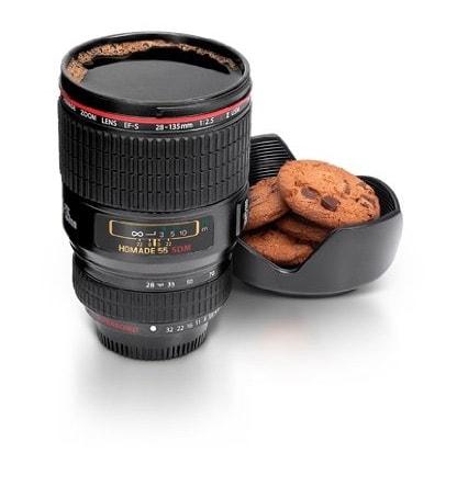 Un regalo original para un fotógrafo al que le guste el café