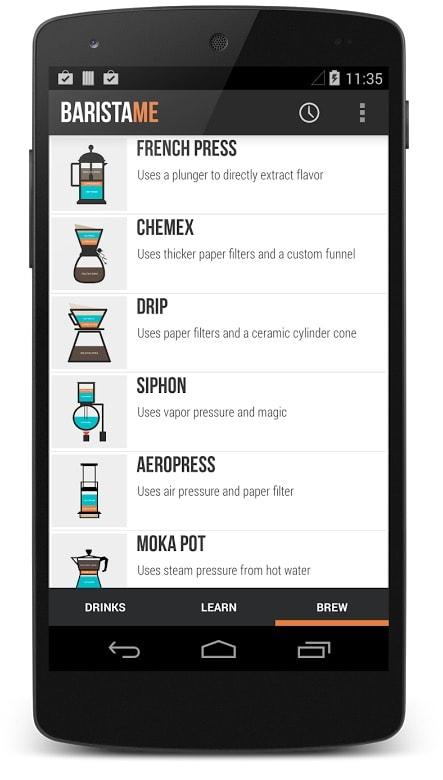3 aplicaciones para Android imprescindibles si te gusta el café: baristame