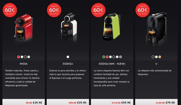 ¿Estas buscando una cafetera Nespresso de regalo o en oferta comprando cápsulas?