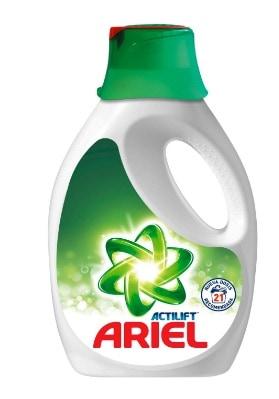 El mejor detergente líquido para quitar manchas de café: Ariel