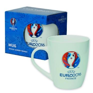 UEFA EURO 2016 – Taza oficial de café – Logo Eurocopa 2016