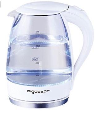 Hervidor de agua Aigostar: hirviendo el agua con estilo (iluminación LED)