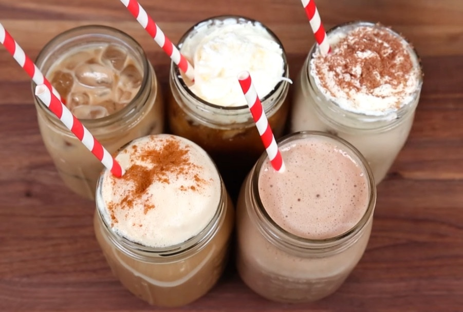trucos para preparar cafés con hielo