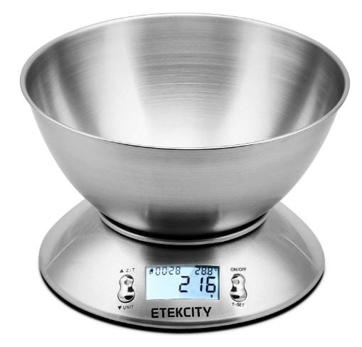 Etekcity - Báscula Digital para Cocina en oferta