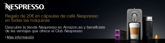 ¡Promoción! 20€ de regalo para cápsulas de café por la compra de una cafetera Nespresso