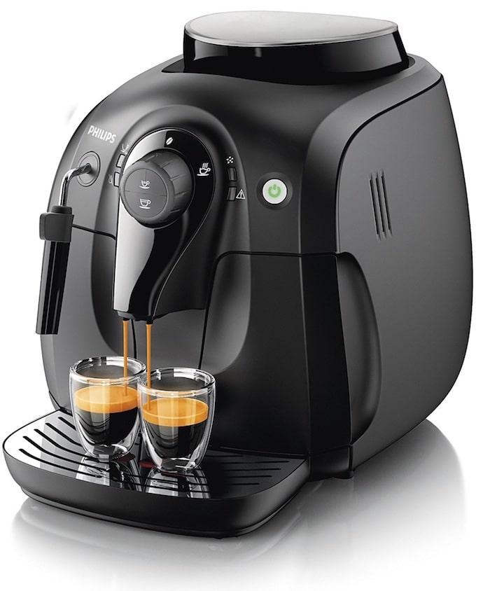 Philips Serie 2000 HD8651/01 - Máquina de café espresso automática con espumador de leche clásico (pannarello)