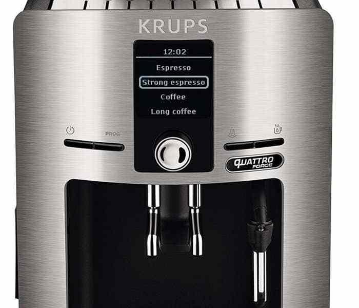¡Oferta! Krups Espresseria, cafetera superautomática con casi un 30% de descuento
