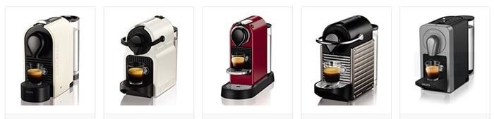 Cafetera superautomática DeLonghi, cafeteras Nespresso, y una cafetera italiana en oferta durante el Black Friday 2017